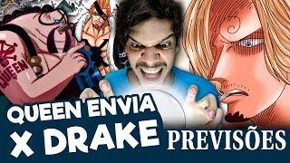 ONE PIECE 928 | Sanji VS X Drake (Previsões)