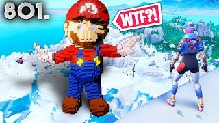 MARIO IN FORTNITE! - Fortnite Funny WTF Fails and Daily Best Moments Ep. 801