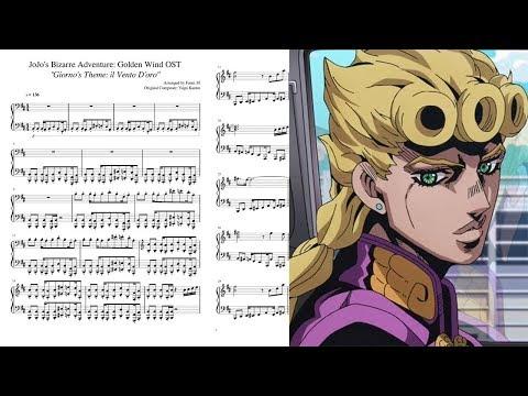 giorno's-theme:-il-vento-d'oro---jojo's-bizarre-adventure:-golden-wind-~-violin-cover