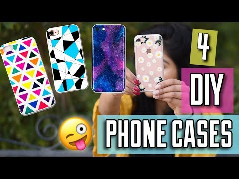 4 Easy DIY Phone Cases | Quick And Easy DIY