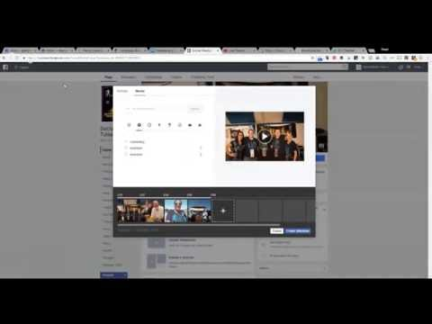 How to add your own music to a Facebook Slideshow