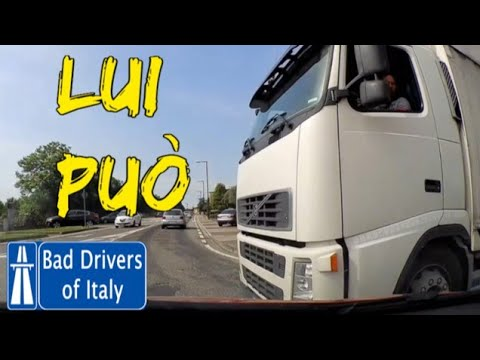 BAD DRIVERS OF ITALY dashcam compilation 06.02