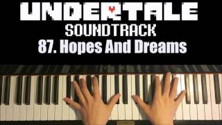 Undertale OST - 87. Hopes And Dreams (Advanced Piano Cover)
