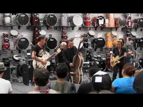 Lee Rocker Clinic at Sam Ash Music in  Torrance, California. 6/23/10