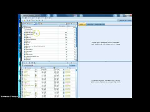 Using IBM SPSS Modeler with Text Analytics