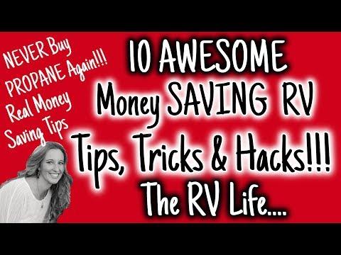 NEVER Buy PROPANE AGAIN 10 RV Money SAVING TIPS, TRICKS & HACKS | REAL MONEY SAVING TIPS