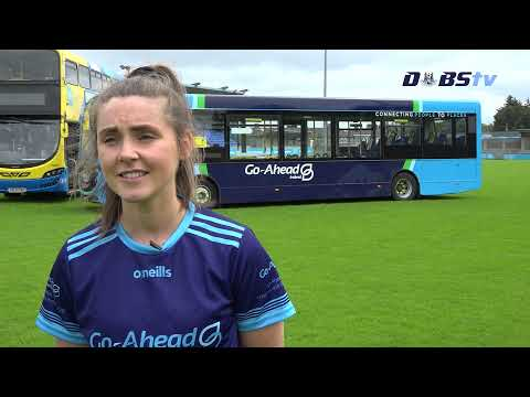 Hannah Hegarty speaks to DubsTV at the launch of Go Ahead Dublin Adult Leagues & Championships