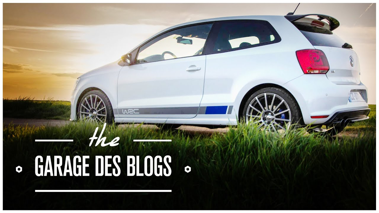 volkswagen polo r wrc le garage des blogs youtube