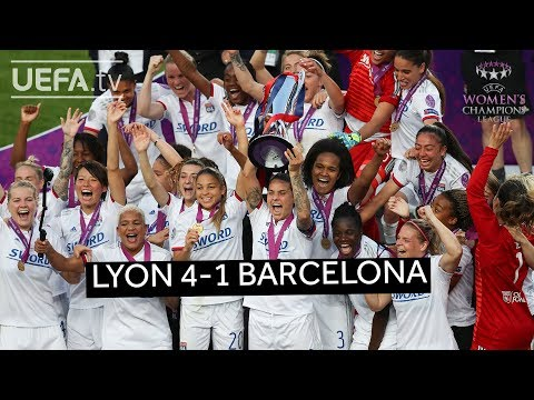 #UWCL 2019 final highlights: Lyon 4-1 Barcelona