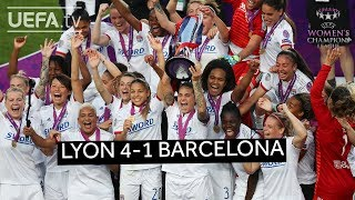 UWCL 2019 Final Highlights Lyon 4 1 Barcelona