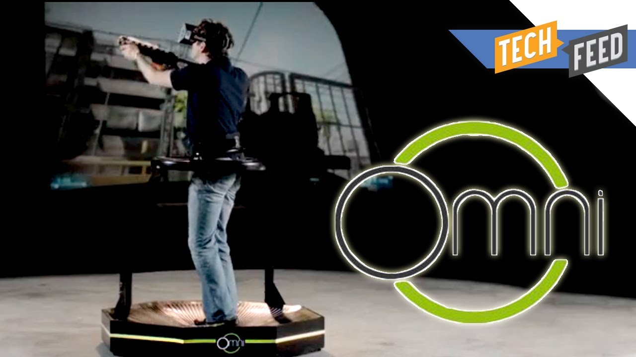 Virtuix Omni Gaming Treadmill Is Here Youtube