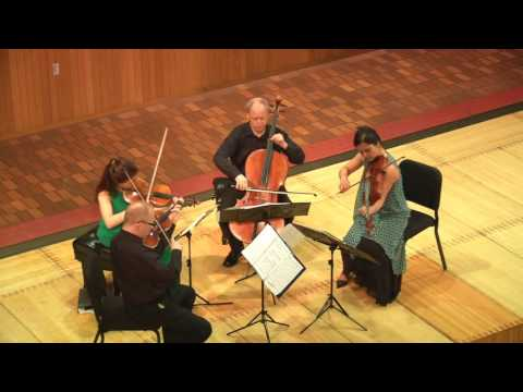 Debussy Quartet in G minor, Op.10, performed by the Arianna String Quartet