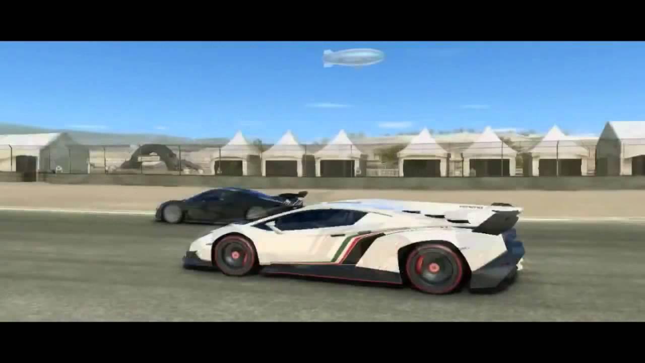 Lamborghini Veneno Vs Bugatti Veyron - YouTube