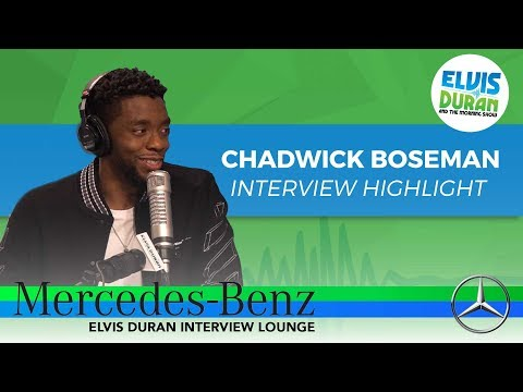 Chadwick Boseman on female empowerment in 'The Black Panther'
