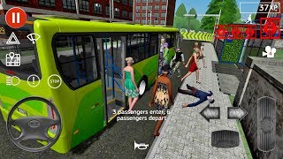 Public Transport Simulator 55 Bus Games Android IOS Gameplay Busgames