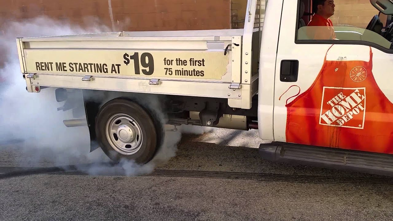 Home depot rental truck burnout youtube - Renter s wallpaper home depot ...