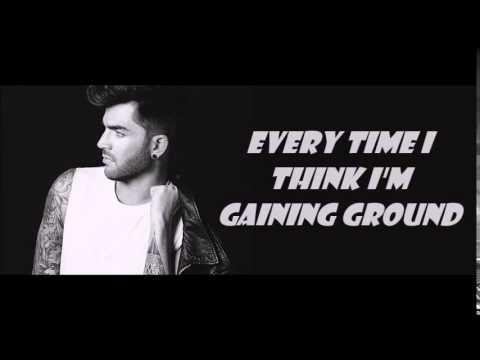 Adam Lambert Things I Didn't Say Lyrics