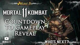 MORTAL KOMBAT 11 Gameplay Reveal Countdown