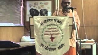 SCIENCE, PHILOSOPHY AND SPIRITUALITY: Sri Swami Tattvavidananda Saraswati