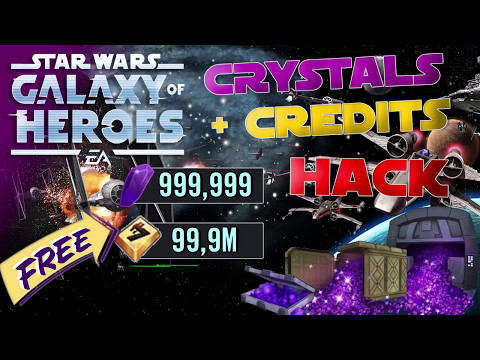 Star Wars Galaxy of Heroes Hack 2017 - Unlimited Crystals [Android and iOS]