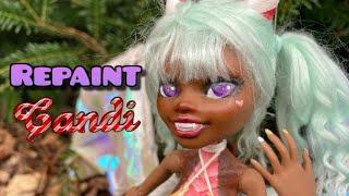 Repaint! Candi The Candy Dragon!- Custom OOAK Art Doll