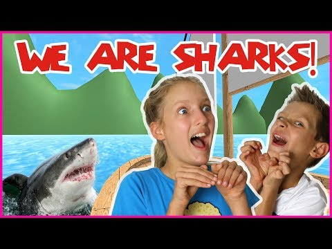 I Become A Shark With Ronald!