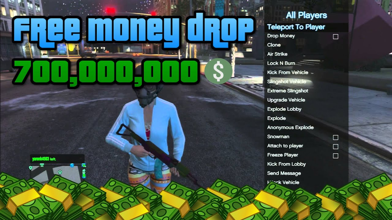Money Drop Gta 5 Ps4