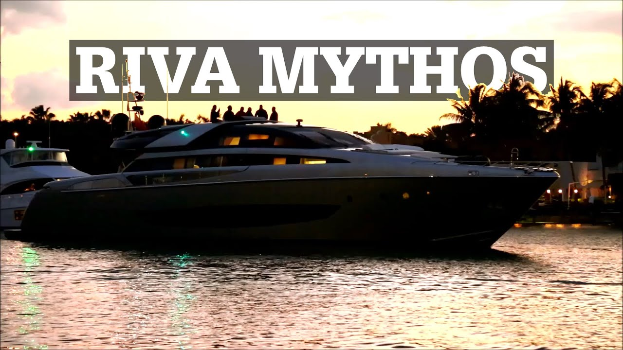 Riva Mythos SOL In Miami YouTube