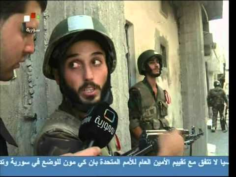 Syrian Arab Army, the only National Syrian Patriot Army, is cleaning Syria from terrorists  (2)