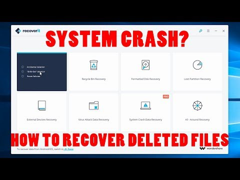 Recover Files From Your Deleted Or Formated Drives With This App! [Recoverit By Wondershare]