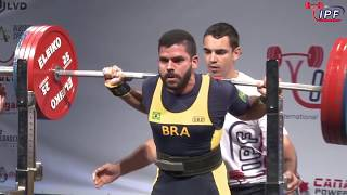 Men Open, 74 kg - World Classic Powerlifting Championships 2018