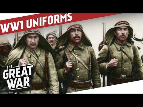 Ottoman Uniforms of World War 1 I THE GREAT WAR Special