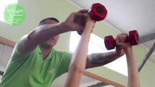 """Силовая тренировка в программе лагеря для похудения """"Будь в Форме"""""""