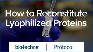 How to Reconstitute Lyophilized Proteins thumbnail