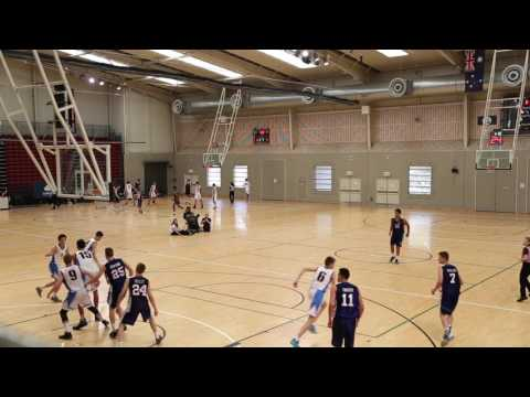 CBSQ Semi Final (Full Game) 2016 - Levi Frankland (27pts 5rbs 6stls)
