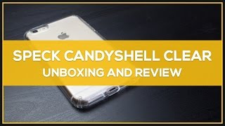 speck candyshell clear iphone 6 6s plus case unboxing review