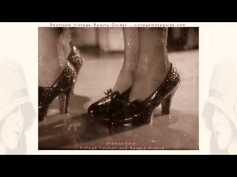 1930s Shoe Fashions - Archive Film