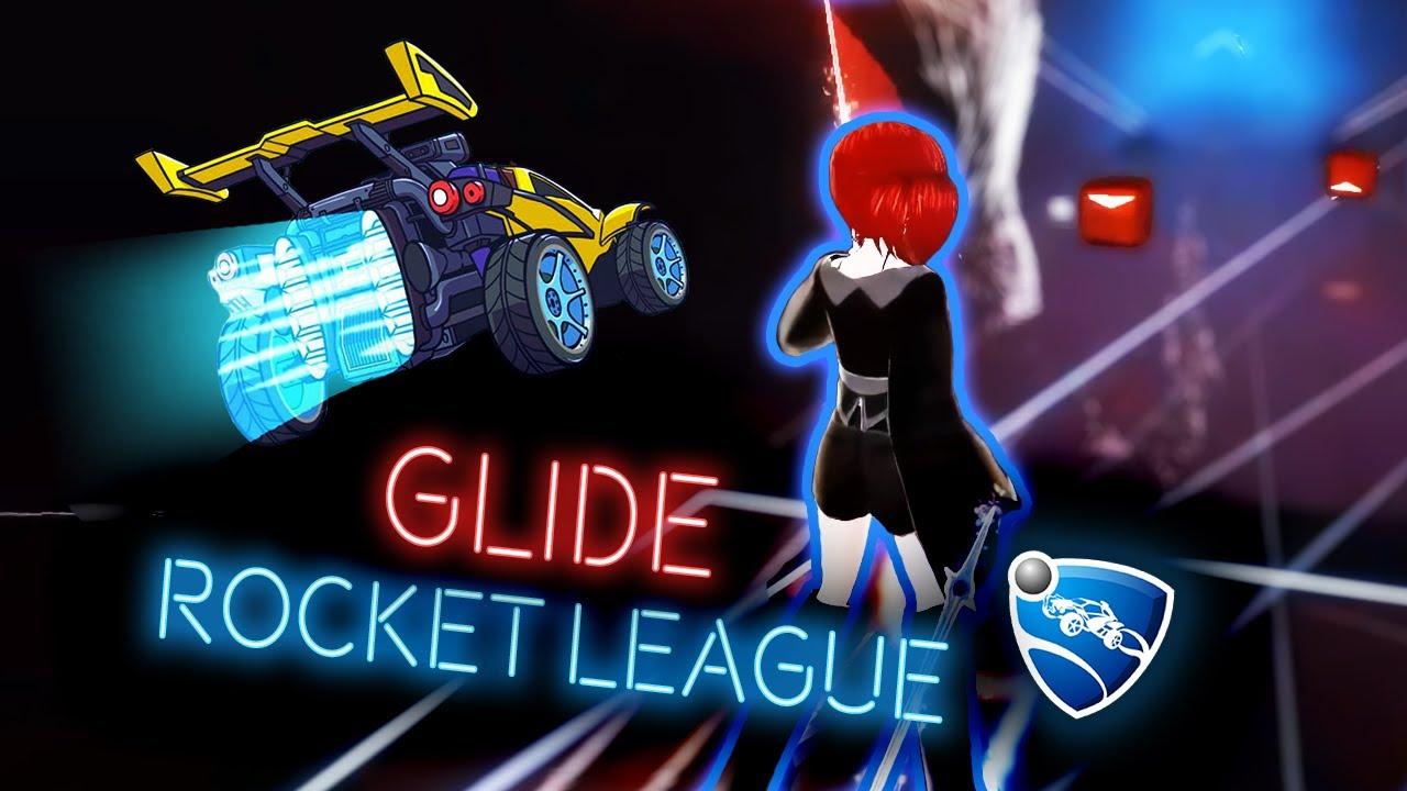 Beat Saber: Glide 90° (Rocket League OST) [Stream Highlight]