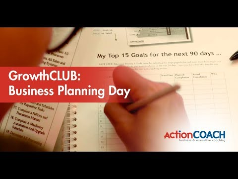 GrowthCLUB: Business Planning Day at ActionCOACH South Jakarta
