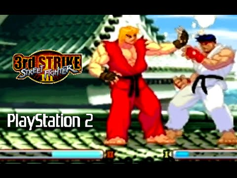 Street Fighter Iii 3rd Strike Playthrough Ps2 Youtube