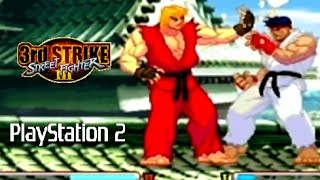 Street Fighter III: 3rd Strike playthrough (PS2)