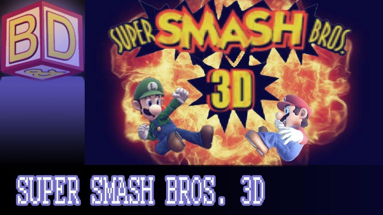 Super Smash Bros  3D Mod/Hack [First Impressions]