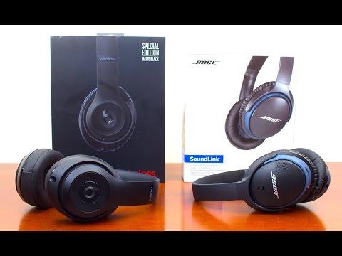 Beats Studio Wireless Vs Bose SoundLink Wireless