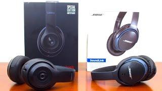 Beats Studio Wireless Vs Bose SoundLink Wireless(Beats Studio Wireless Vs Bose SoundLink Wireless II ▻Buy On Amazon Beats Studio Wireless Over-Ear Headphone http://amzn.to/1mZ7YZU ▻Buy On ..., 2016-01-14T22:34:00.000Z)