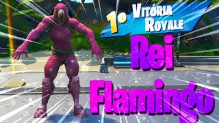 """SOLEI GERAL AS A NEW SKIN """"King Flamingo""""-Fortnite Battle Royale"""