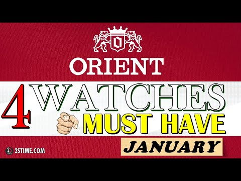 4 ORIENT Watches You Must HAVE | JANUARY Choice By @2stime  