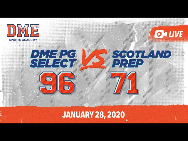 DME PG Select vs Scotland Prep White