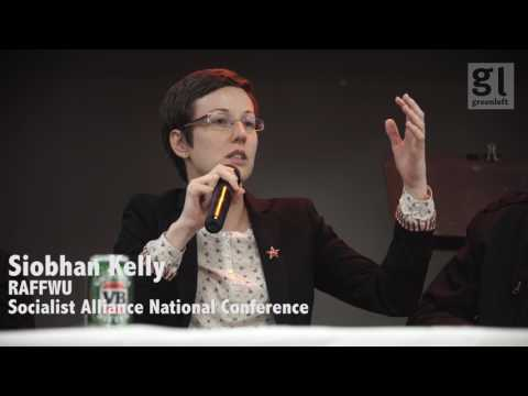 Siobhan Kelly (Retail & Fast Food Workers Union)