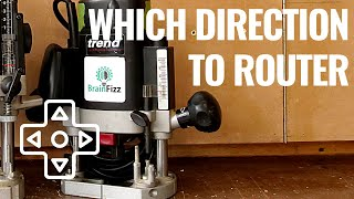 Router direction of cut: Everything you need to Know! Tips and tricks for perfect safe cuts