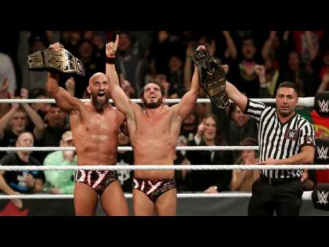 WWE NXT: #DIY (Gargano & Ciampa) 1st Theme Song: Chrome Hearts